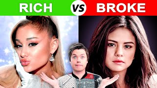 Singers born BROKE vs Singers born RICH
