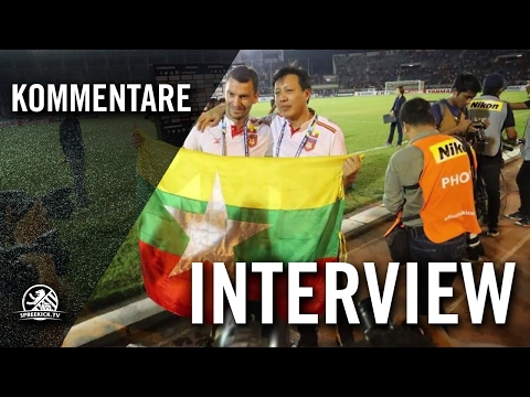 Deutsche Tugenden in Fußball-Asien - Interview mit Miroslav Jagatic (Ehemaliger Co-Trainer Nationalmannschaft Myanmar) | SPREEKICK.TV