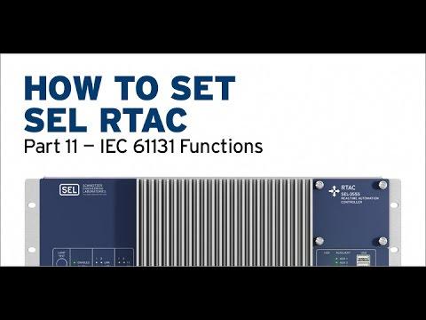 SEL RTAC — IEC 61131 Functions