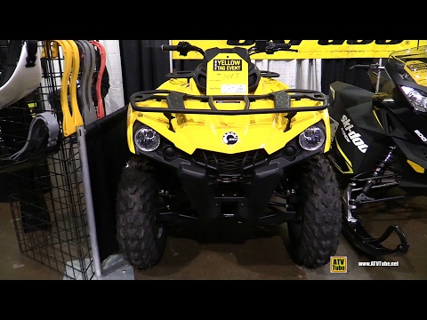 2017 Can Am Outlander 450 Recreational ATV - Walkaround 2016 Toronto ATV Show