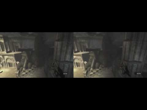 YT3D - Tomb Raider Anniversary, Coliseum (iZ3D driver)
