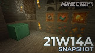 Minecraft: NEW FEATURES IN 21W14A SNAPSHOT - 1.17 Update