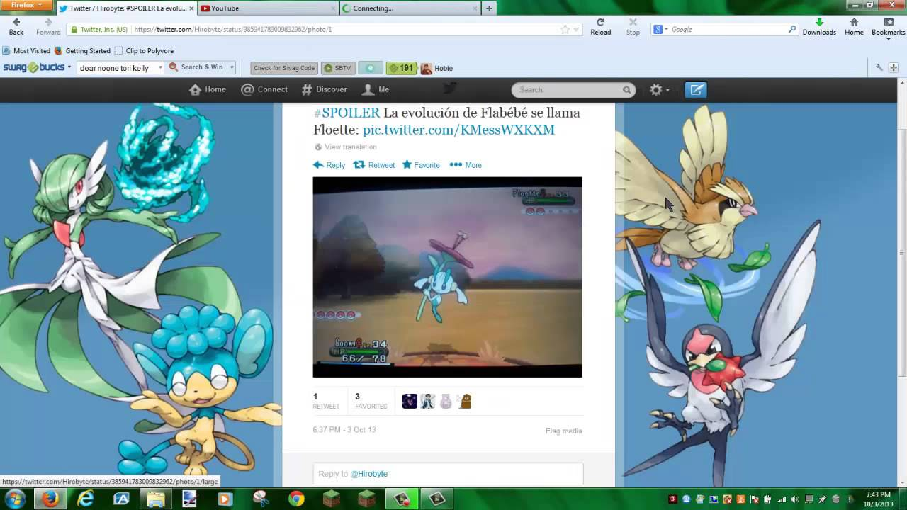 Evolution of Flabebe! Floette Leaked! Pokemon X and Y ...