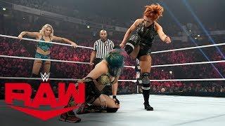Becky Lynch & Charlotte Flair vs. Kabuki Warriors - WWE Women's Tag Title Match: Raw, Nov. 11, 2019