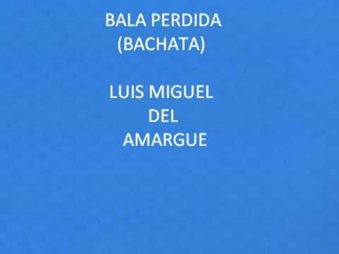 Bala perdida - Luis miguel del amargue