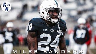 Miles Sanders vs Wisconsin   ᴴ ᴰ   ||   11/10/18