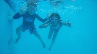 Kids First Underwater Swimming Lessons | Familia Diamond