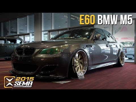 SEMA 2015   BMW M5   Boden AutoHaus