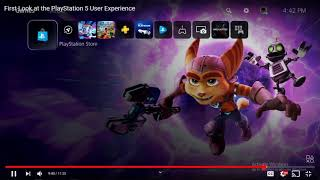 First Look at the PlayStation 5 User Experience Reaction Urdu/Hindi