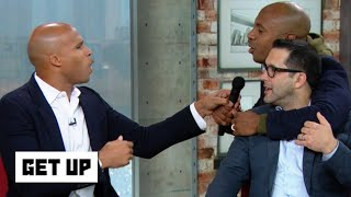 Jay Williams storms the set to take the mic away from Richard Jefferson in NBA MVP debate | Get Up