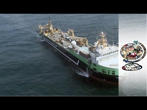 How Australia Impounded the World's Second-Largest Fishing Trawler