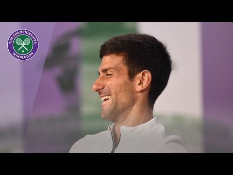 Novak Djokovic Winner's Press Conference Wimbledon 2019