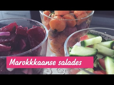 Marokkaanse salades - Healthy Sisters