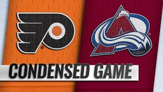 10/06/18 Condensed Game: Flyers @ Avalanche