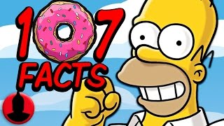 107 Simpsons Facts Everyone Should Know! | Channel Frederator