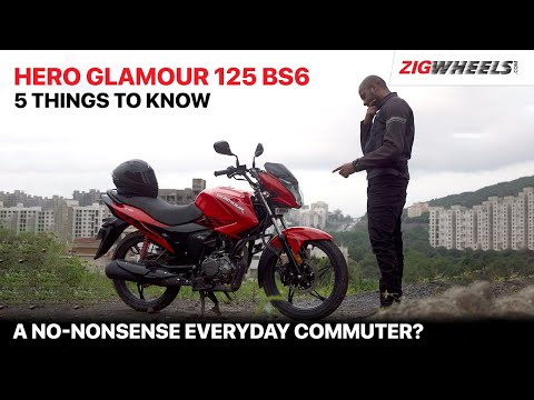 Hero Glamour 125 BS6 Road Test | Performance, Mileage, Features & More
