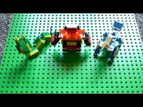 Lego Pokemon Instructions Part 12 Torterra Infernape And