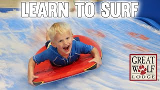 Michael's MAJOR Surfing Wipeout - Family Fun Pack Great Wolf Lodge