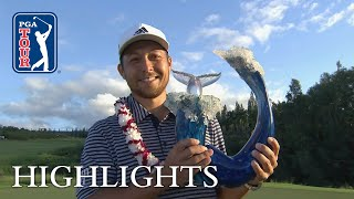 Xander Schauffele highlights | Round 4 | Sentry