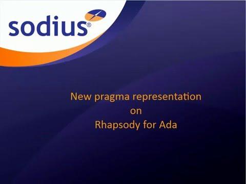 New pragma representation in IBM Rational Rhapsody for Ada
