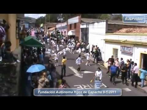Desfile de Reyes Magos Capacho Independencia Táchira Venezuela 1ra. Parte