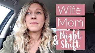 NEW NURSE AND NIGHT SHIFT TRANSITION With a Family | Day in the Life of a Nurse | Working Mom Vlog