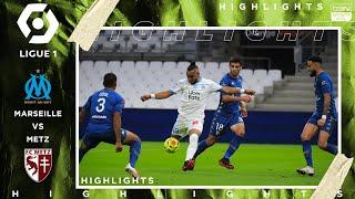 Marseille 1 - 1 Metz - HIGHLIGHTS & GOALS - (9/26/2020)