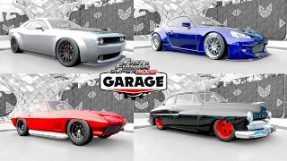 Fast & Furious 8 - Forza Horizon 3 - Garage !!