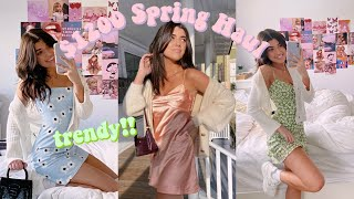 $1200 TRENDY SPRING TRY ON CLOTHING HAUL 2020