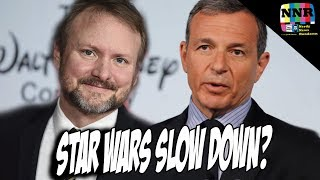 Star Wars Slow Down Coming, Bob Iger Says! Rian Johnson Trilogy Delayed?