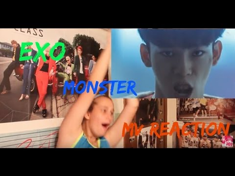 EXO - MONSTER MV REACTION | CHEN... WHYYY???!!!