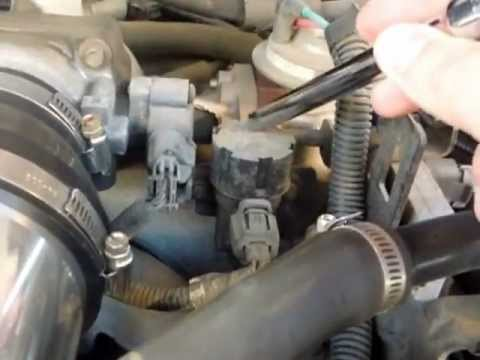 1997 Ford Expedition 5 4l V8 Triton Egr Valve Location