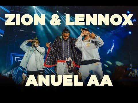 Presentación Zion & Lennox, Anuel AA   Premios HEAT   Punta Cana 2019