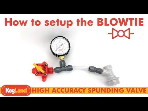 FermZilla - BlowTie Diaphragm Spunding Valve Kit ( 0-40psi )