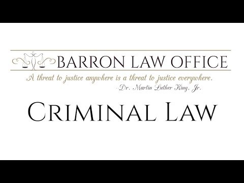 Barron Law Office - Criminal Defense