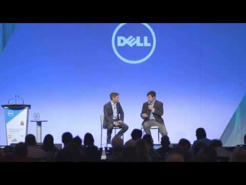 Mark Hemphill, Founder of ScreenScape at Dell Power To Do More IT summit