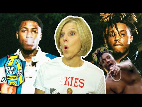 Mom Reacts to Juice WRLD - Bandit ft. NBA Youngboy (Dir. by @_ColeBennett_)