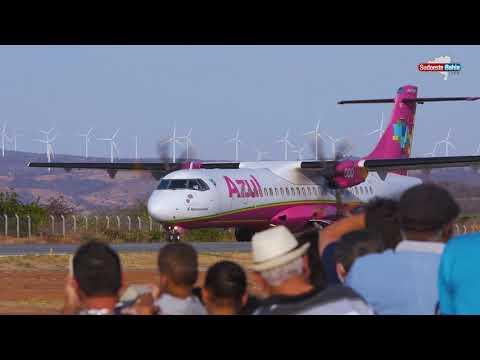 Azul inaugura voo direto de Guanambi para Belo Horizonte