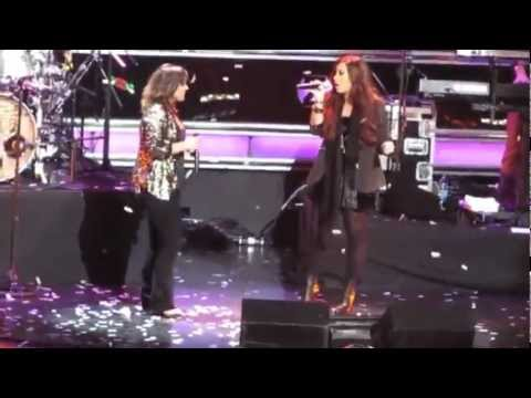 Demi Lovato and Kelly Clarkson: when dreams come true!