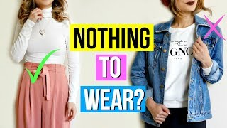 What to Wear When You Have Nothing to Wear! 11 Outfit Ideas - YouTube