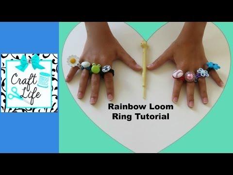 Craft Life ~ Rainbow Loom Ring Tutorial