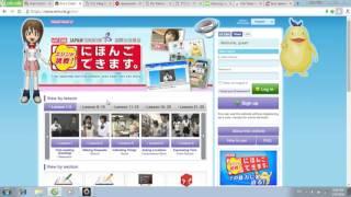 Các trang Web giúp bạn tự học tiếng Nhật tại nhà.