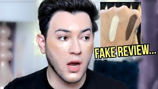 MANNY MUA LIES ABOUT MORPHE FOUNDATION!?