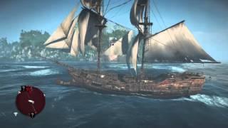Assassin's Creed IV Black Flag - Destroy the fort's defenses gameplay