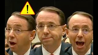 Rod Rosenstein Full Testimony - House Judiciary Committee - Oversight Hearing
