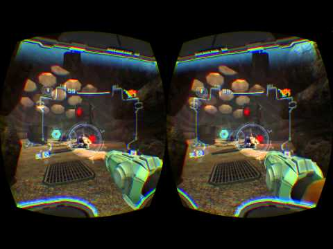 Metroid Echoes runing perfect on Oculus DK2 in dolphinVR