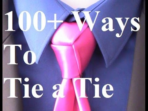 how to tie a tie trinity knot for your necktie youtube. Black Bedroom Furniture Sets. Home Design Ideas