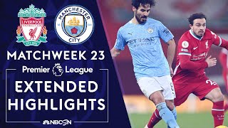 Liverpool v. Manchester City | PREMIER LEAGUE HIGHLIGHTS | 2/7/2021 | NBC Sports