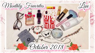 Live Monthly Favorites: October 2018 Favorites Jewelry,Beauty,Gadgets