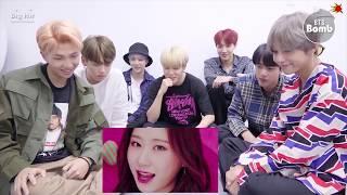 BTS Reacts to ITZY DALLA DALLA MV